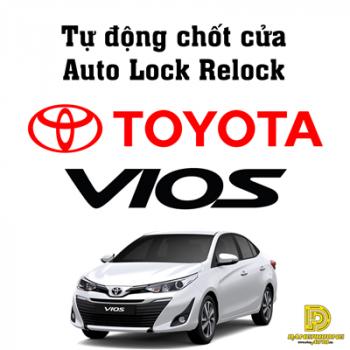 Tự động chốt cửa Auto Lock Relock xe Toyota Vios 2014 - 2019