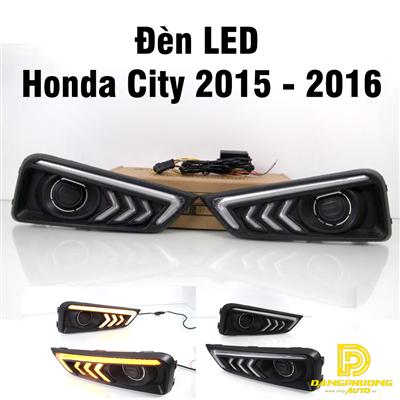 Đèn LED cho xe Honda City 2015 - 2016
